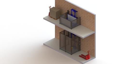 Freight elevator vertical conveyor selection